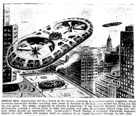 An American Scientific journal makes predictions about commuting in the future.